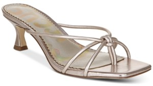 Sam Edelman Jess Barely-There Kitten Heel Sandals Women's Shoes