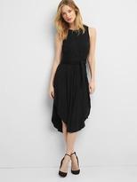 Gap Wrap-belt midi dress