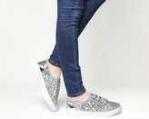Office Adore Metallic Detail Trainers