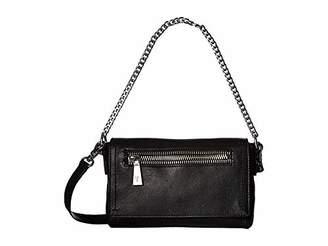 Frye Lena Chain Zip Leather Crossbody Bag