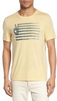John Varvatos Men's Peace Flag Graphic T-Shirt