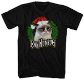 Grumpy Cat ® Men's Bah Humbug T-Shirt Black