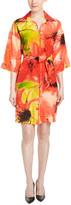 Josie Natori Silk Shift Dress