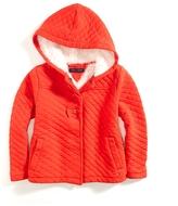 Tommy Hilfiger Hooded Fleece Coat