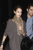 Tolani Infinity Scarf in Leopard