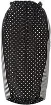 Stella McCartney dual pattern midi skirt