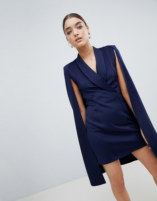 Club L London Club L Cape Blazer Dress