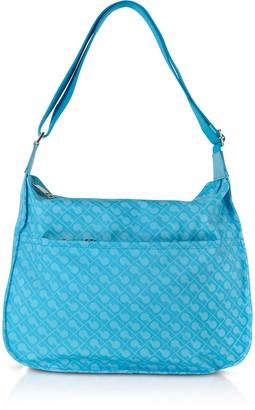 Gherardini Aquarius Signature Fabric Softy Shoulder Bag
