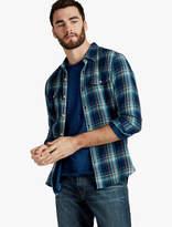 Lucky Brand Indigo Doubleweave Shirt