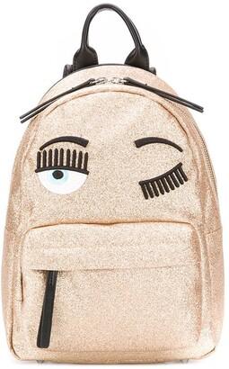 Chiara Ferragni small glitter backpack