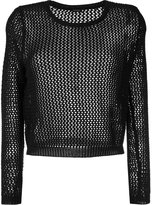 Aspesi fishnet jumper - women - Cotton - 40