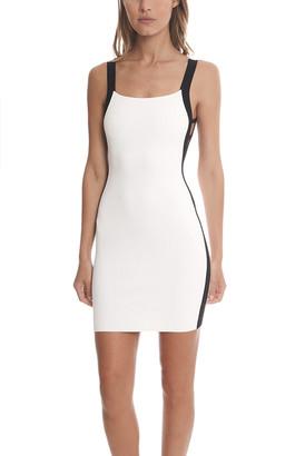 White FRANZISKA FOX Open Back Dress