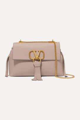 Valentino Garavani Vring Small Leather Shoulder Bag - Blush