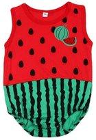 FTXJ Baby Jumpsuits,Super Cute Newborn Boy Girl Infant Sleeveless Romper Bodysuit (3-6M, )