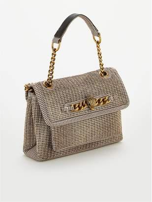Kurt Geiger London Fabric Small Chelsea Bag