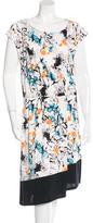 Robert Rodriguez Floral A-Line Dress