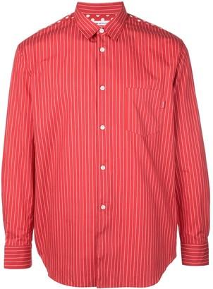 Supreme x CDG striped shirt