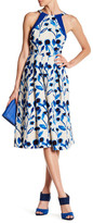Eva Franco Jenna Printed Midi Dress