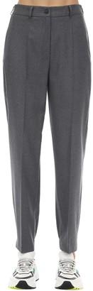 Agnona High Waist Wool Pants