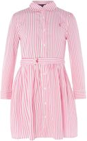 Polo Ralph Lauren Girls Striped Shirt Dress