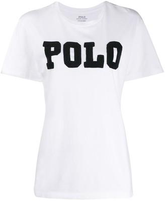 Polo Ralph Lauren embellished logo T-shirt