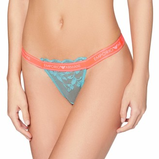 Emporio Armani Women's Visibility-Sporty Lace Thong