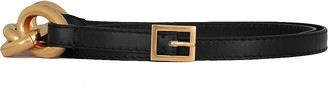 Marni Leather And Metal Belt