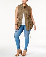 MICHAEL Michael Kors Size Cargo Vest