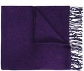 Brioni fringed scarf