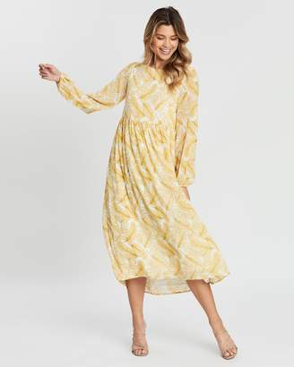 Atmos & Here Pascal Relaxed Midi Dress