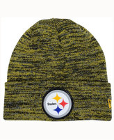 New Era Pittsburgh Steelers Beveled Team Knit Hat
