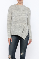 Dex Side Lace-Up Sweater