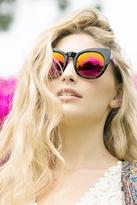 Quay Eyeware Cha Cha Sunglasses in Black Tortoise