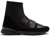 Damir Doma Flash High-top Neoprene Trainers