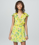 Prince & Fox Ruffled Floral Dress