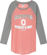 PINK The Ohio State University Bling Perfect Baseball Tee