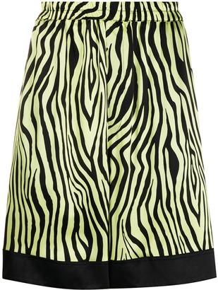Laneus Animalier shorts
