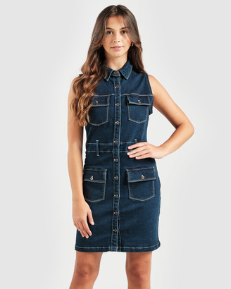 RES Denim Women's Navy Jeans - Alena Dress - Size One Size, XS at The Iconic