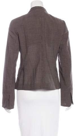 Akris Punto Striped Wool Blazer