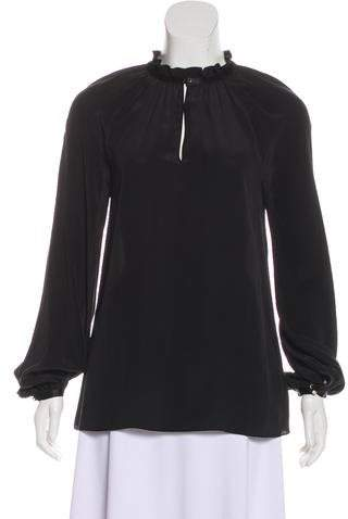 Bird by Juicy Couture Janis Silk Top w/ Tags