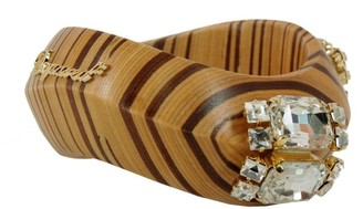 DSQUARED2 Embellished Wooden Bracelet