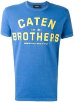 DSQUARED2 'Caten Brothers' T-shirt - men - Cotton - XS