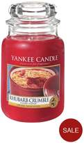 Yankee Candle Rhubarb Crumble Large Jar Candle