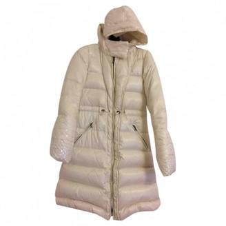 Pinko Ecru Coat for Women