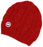Canada Goose Cable Knit Beanie Hat
