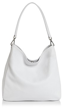 Aqua Leather Hobo Bag - 100% Exclusive
