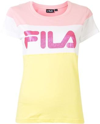 Fila short sleeve logo print T-shirt