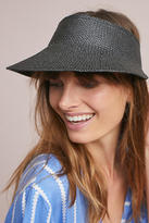 Anthropologie Julia Straw Visor