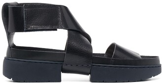 Trippen Open-Toe Leather Sandals
