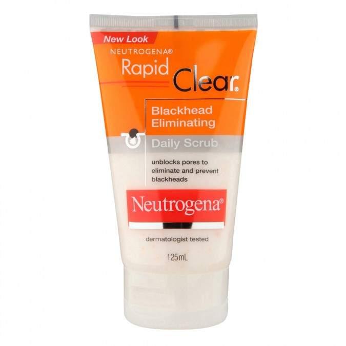 Neutrogena Rapid Clear Blackhead Scrub 125 mL